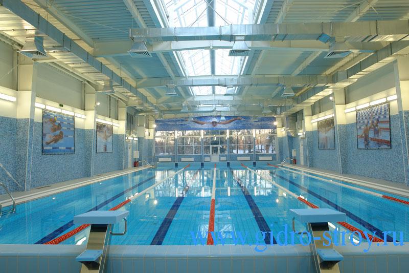 Плавательный бассейн на четыре